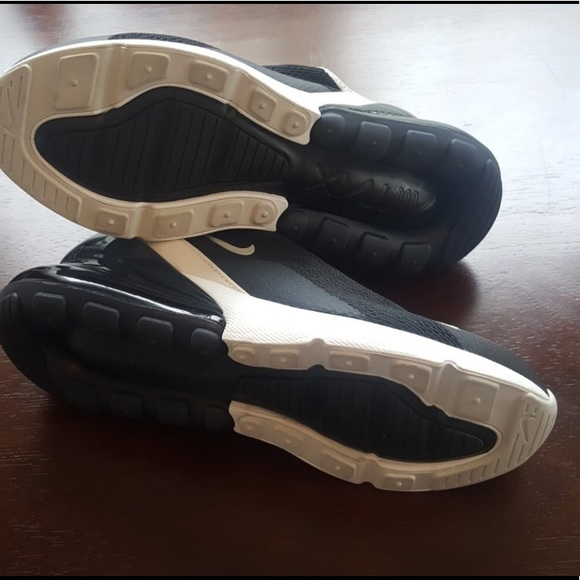 on sale 76f0a 7a0cf Women Nike Air Max 27C in Black and White.